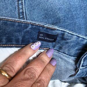 GAP Jeans - Gap Straight Leg Jeans (10R)